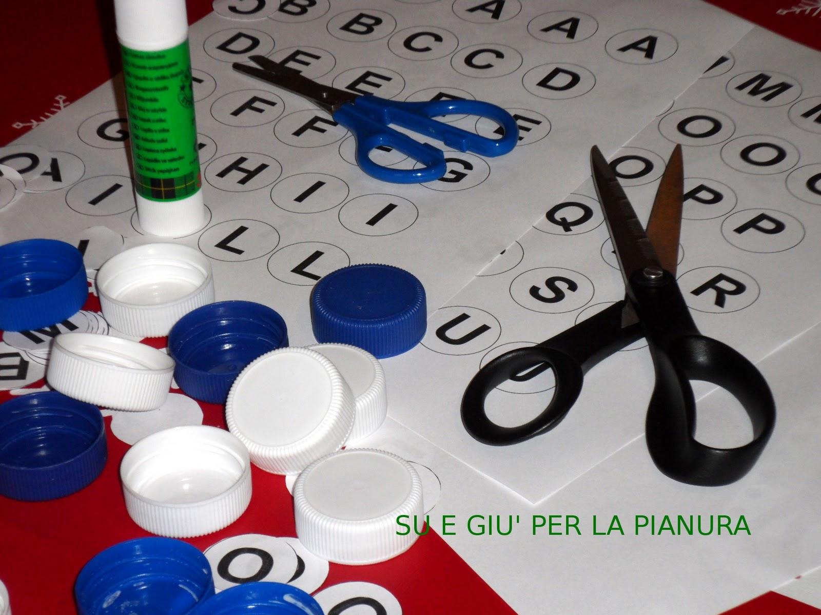 spesso Su e giu per la Pianura Padana: Giochi fai da te: scarabeo  OF61