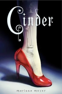 bookcover of CINDER by Marissa Meyer