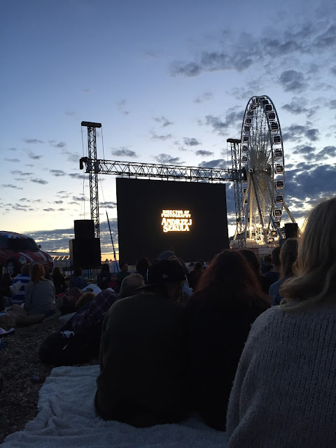 Brighton Big Screen Pulp Fiction August Summer Beach