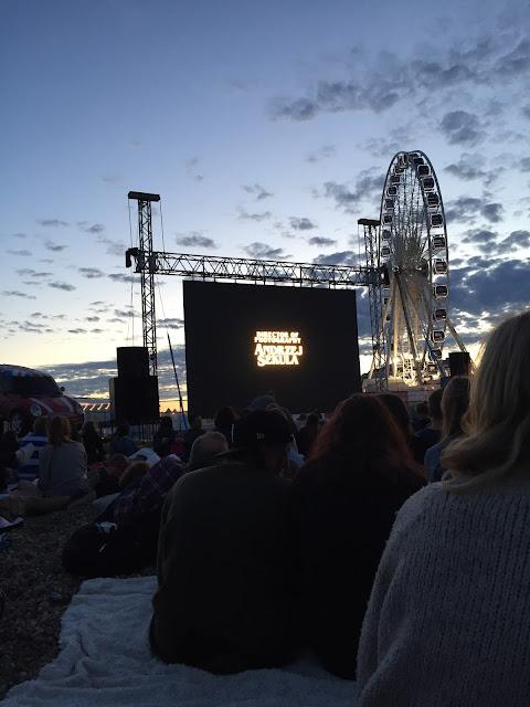 Brighton Big Screen Pulp Fiction August Summer Beach