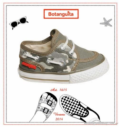 zapatillas bebes botanguita verano 2014