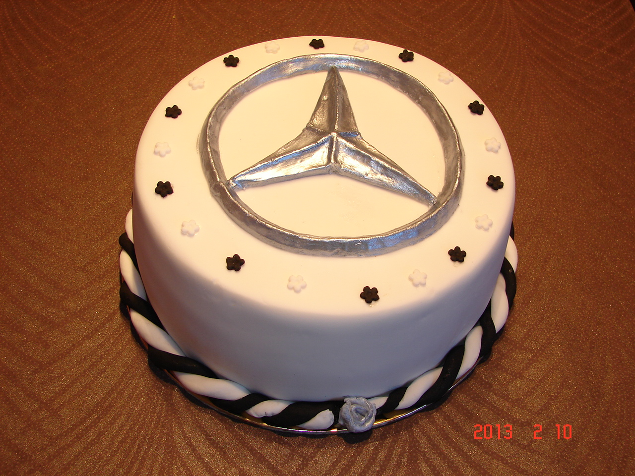 Birthday Mercedes Cakes And Cupcakes Mercedes Benz Car Cake Pops