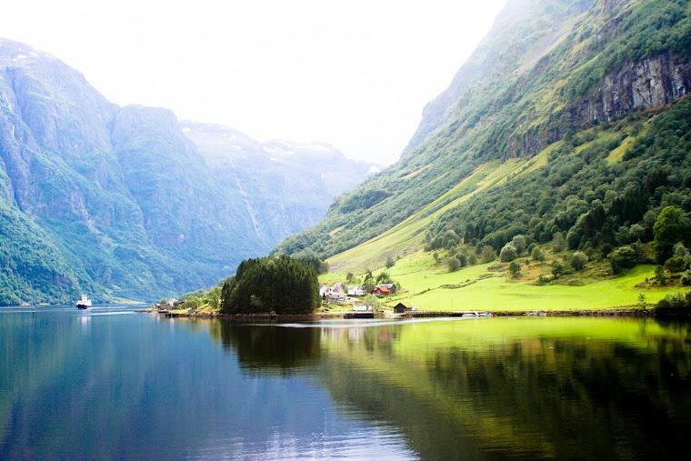 la belleza de Noruega
