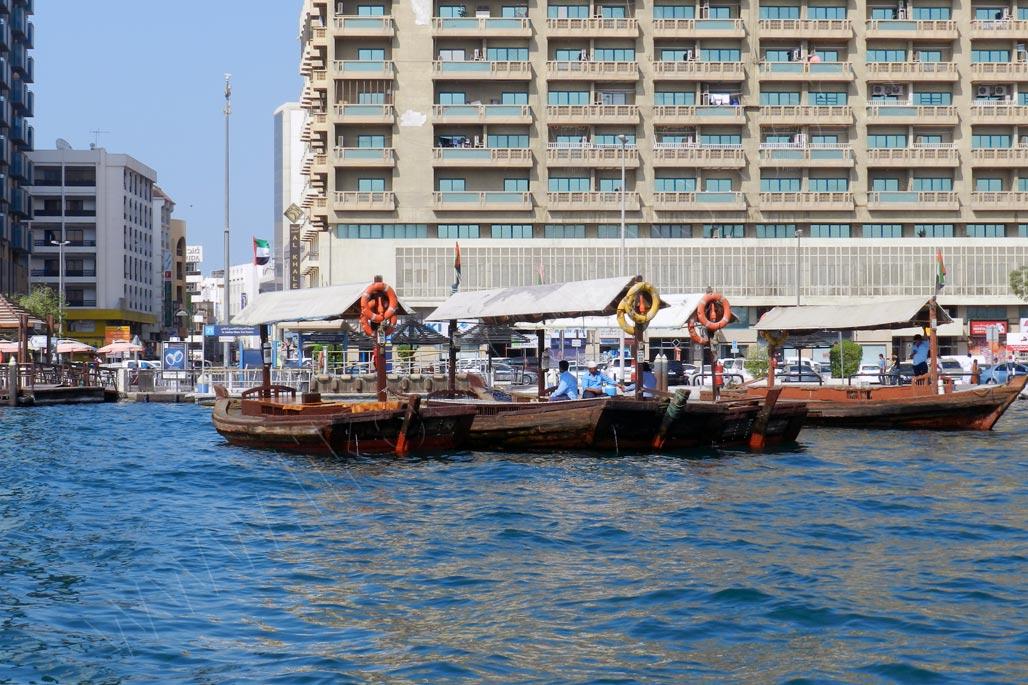 Dubai Al Sabkha Marine - water buses
