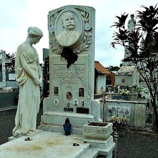 Jazigo da Família Vargas, no Cemitério Jardim da Paz, em São Borja.