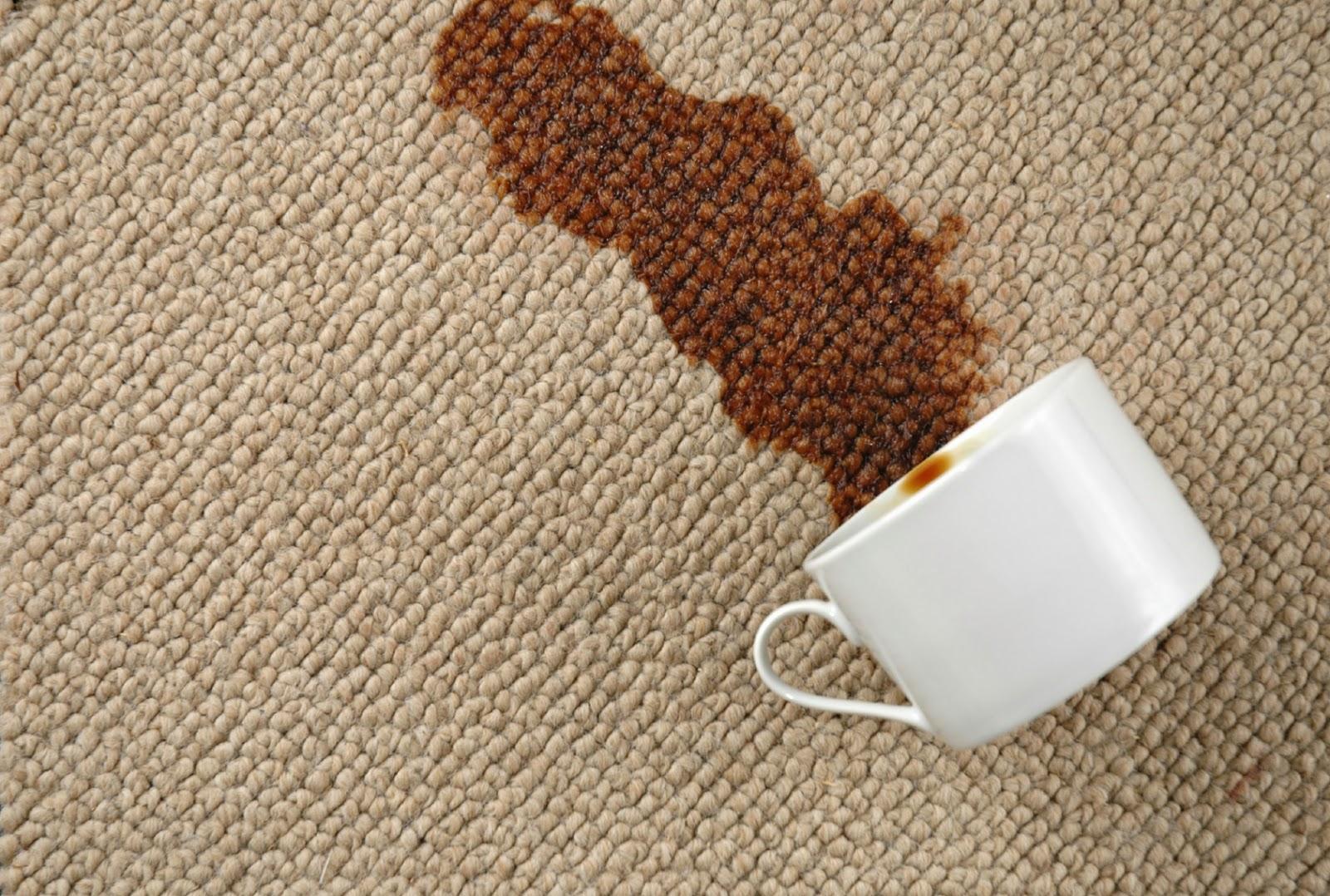 Tips : Cara Membersihkan Noda Di Karpet Dengan Mudah