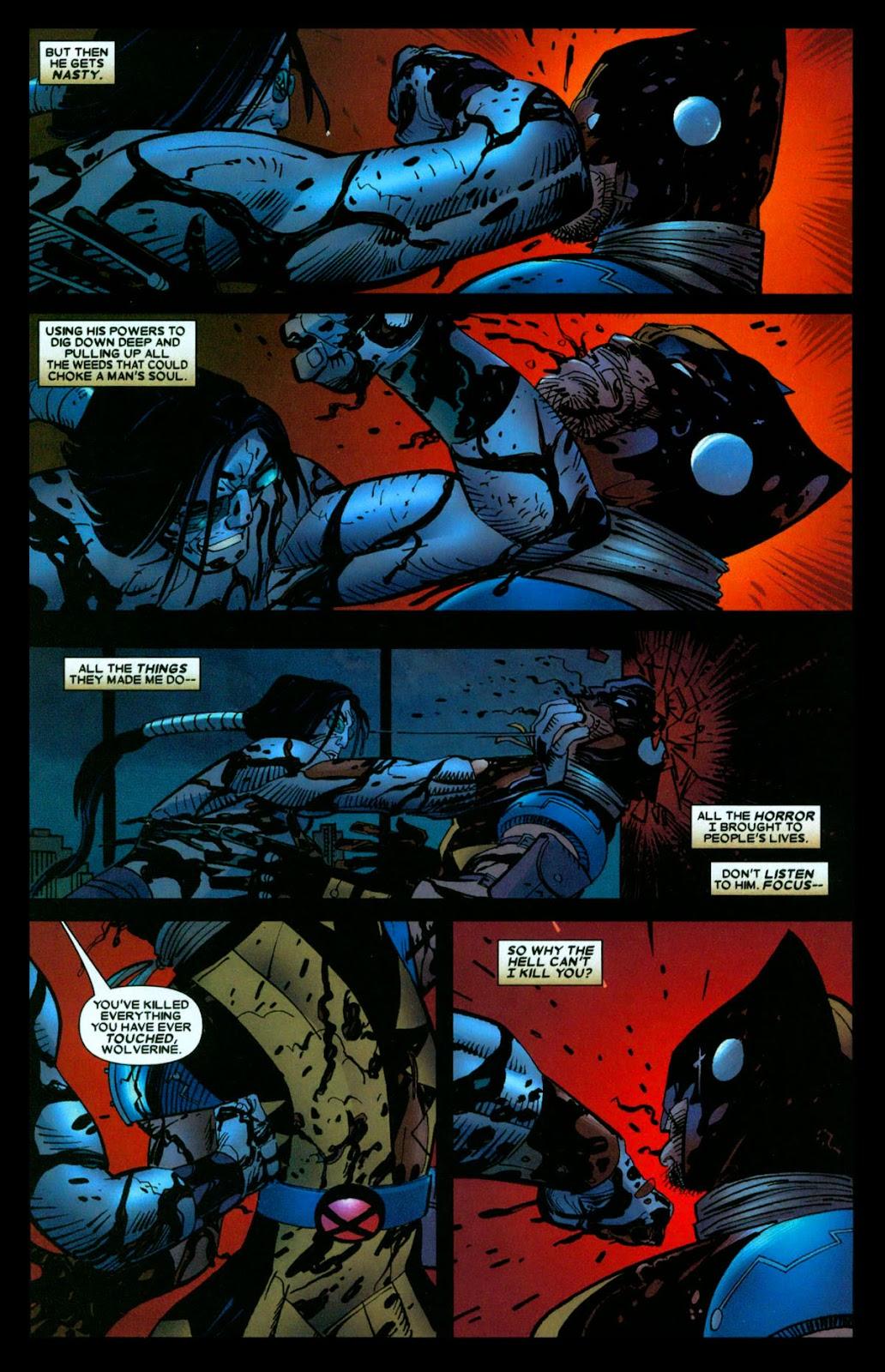 Read online Wolverine (2003) comic -  Issue #31 - 14
