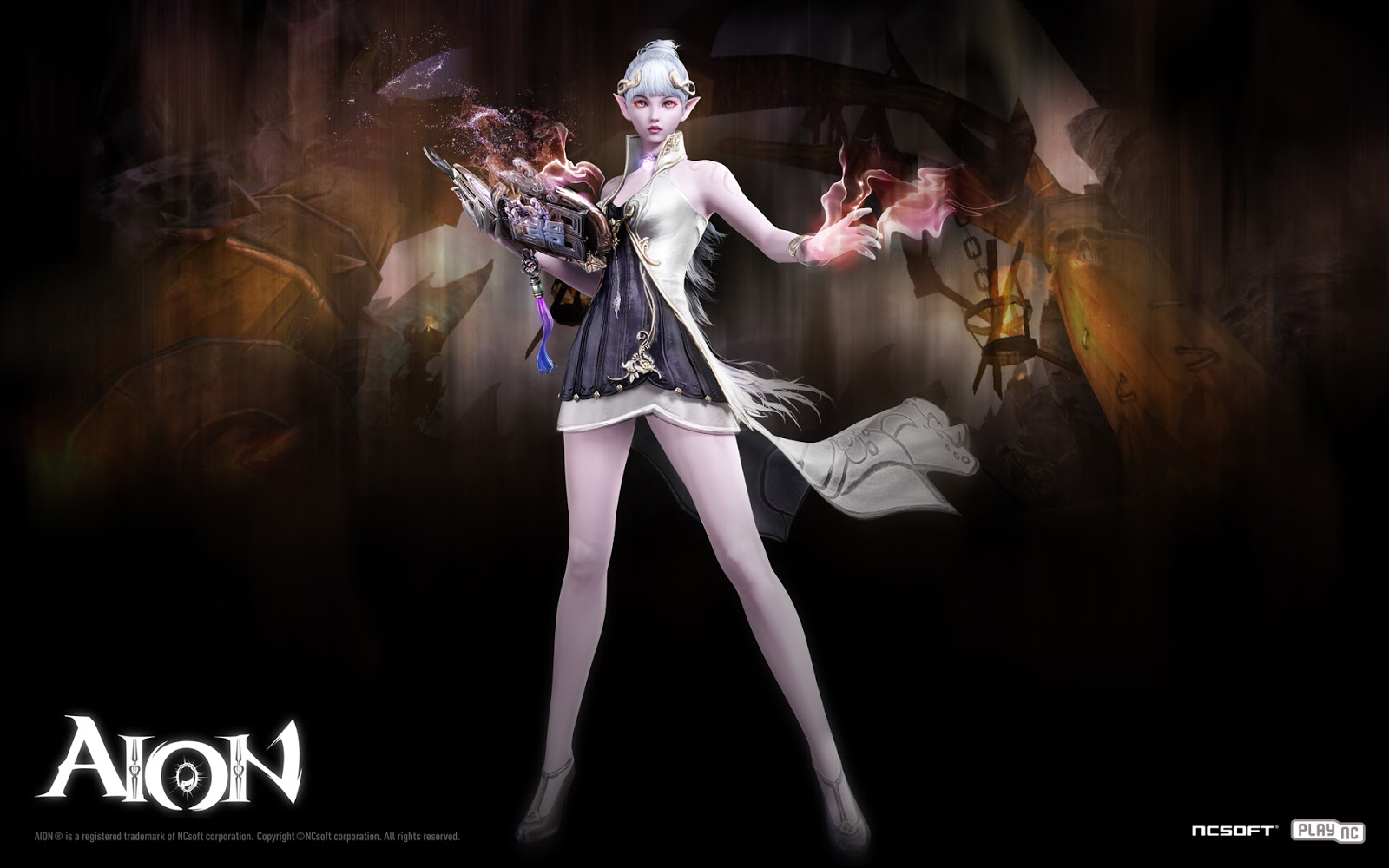 Sorcerer : Aion 3.0 Game Wallpaper