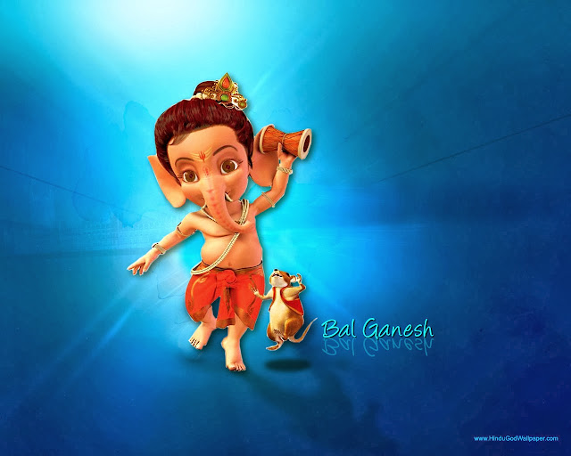 Calendar Raksha Bandhan : Bal ganesha hindu god wallpapers download