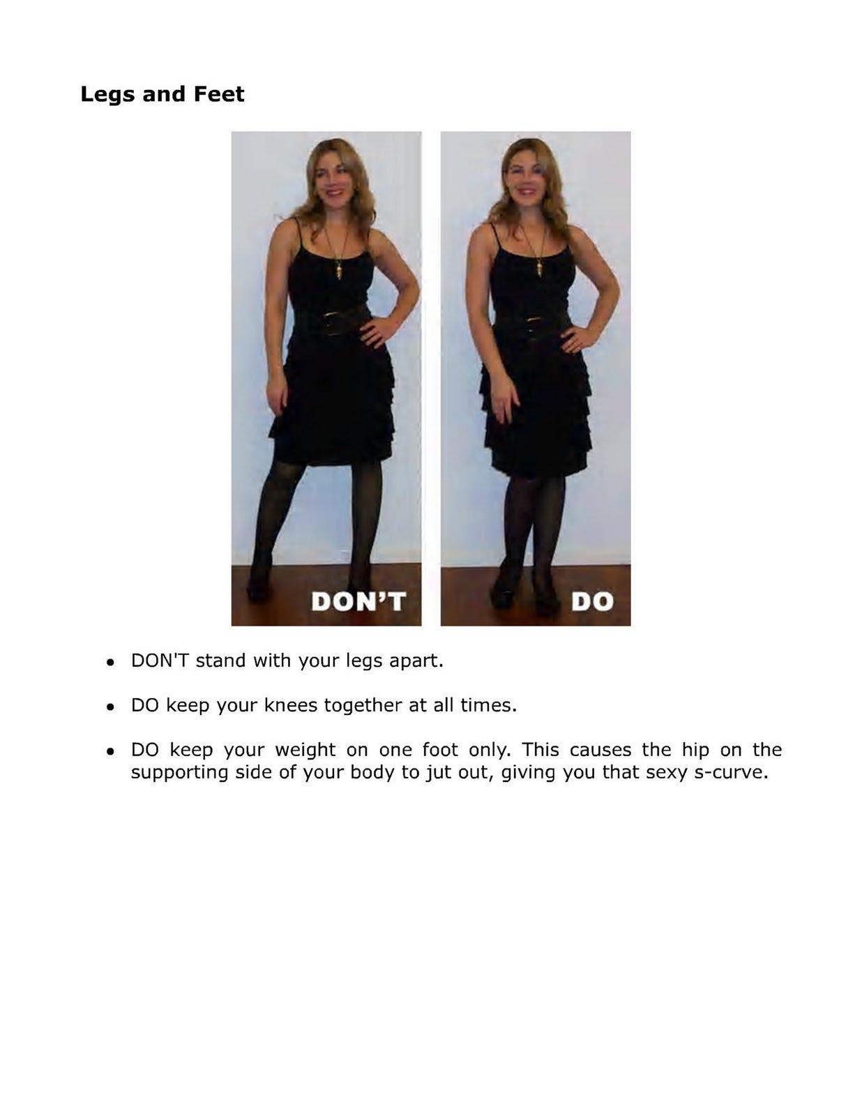 Crossdressing tips female body language secrets - Tips dressing ...