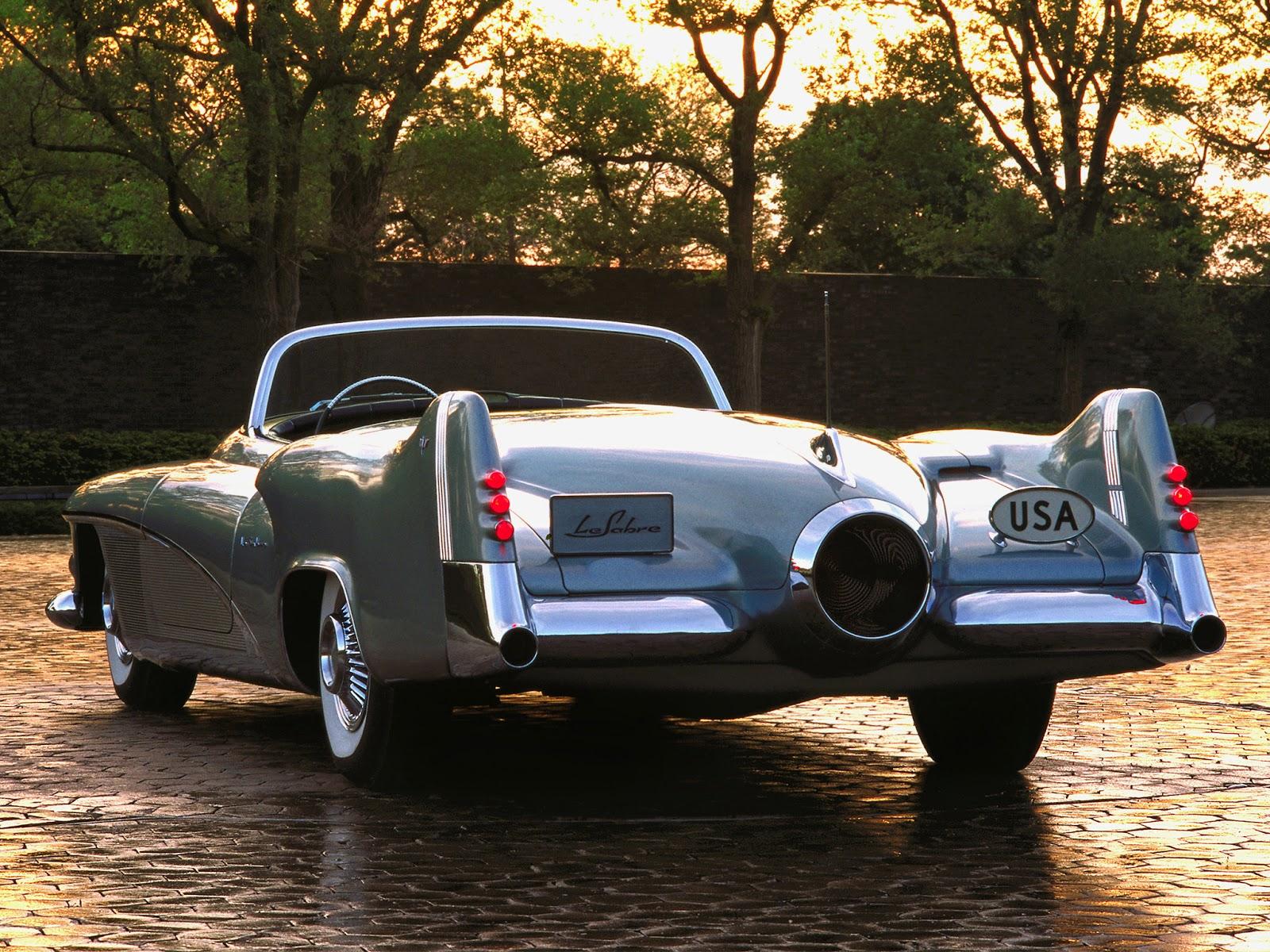 Buick Le Sabre Concept car The General Motors Buick Le Sabre jet engine Concept car (1951).