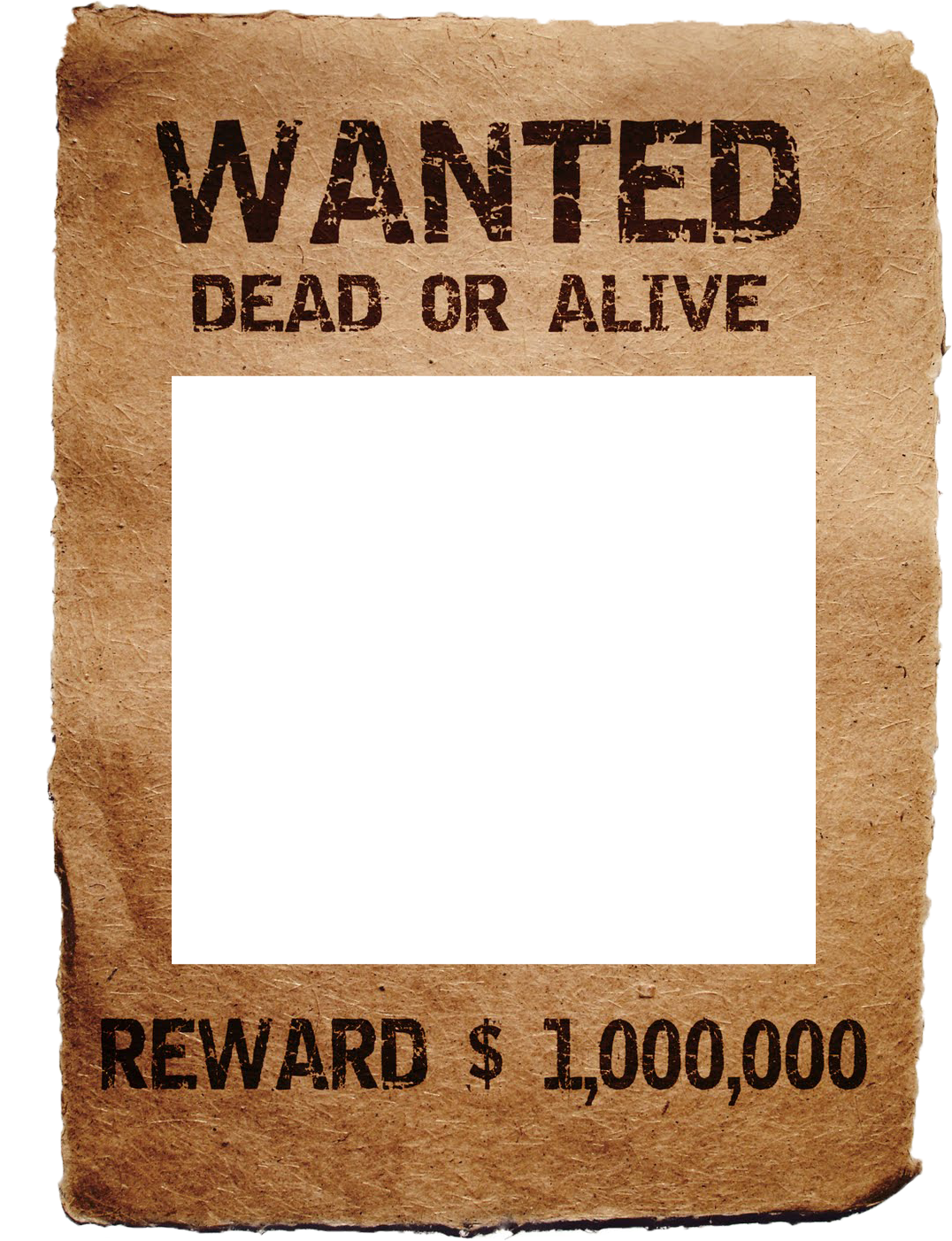 Free wanted poster templates