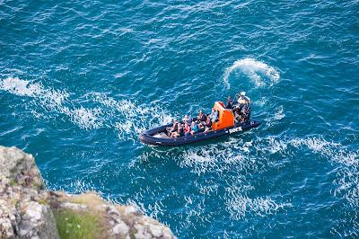 Based at Rock, Cornwall, the Wavehunters boat
