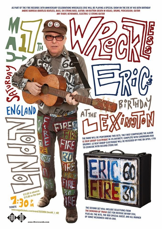 Wreckless Eric 2014