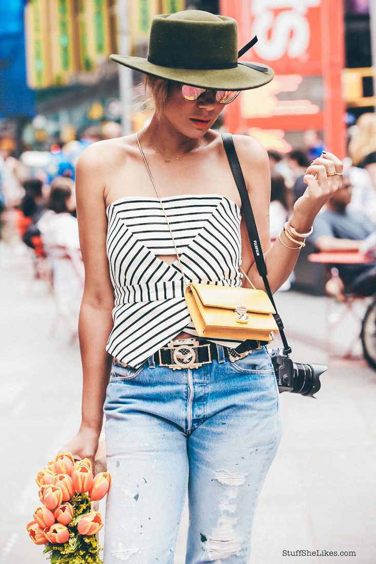 levis, vintage levis, chelsea boots, french connection, forever 21, forever 21 hats, new york fashion week. fashion week, blogger, top blogger, top ten fashion bloggers, Stuff She Likes, Taye Hansberry