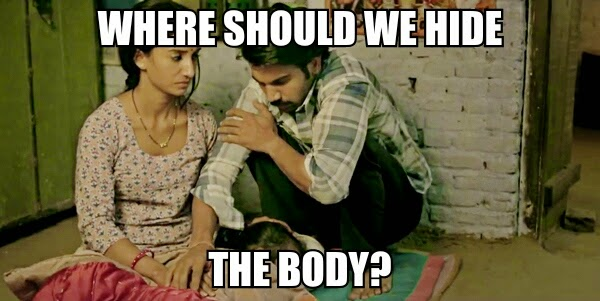 Raj Kumar Yadav and Patralekha and Child, Bollywood Meme