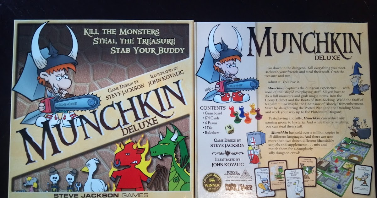 Munchkin Deluxe A Board Game A Day