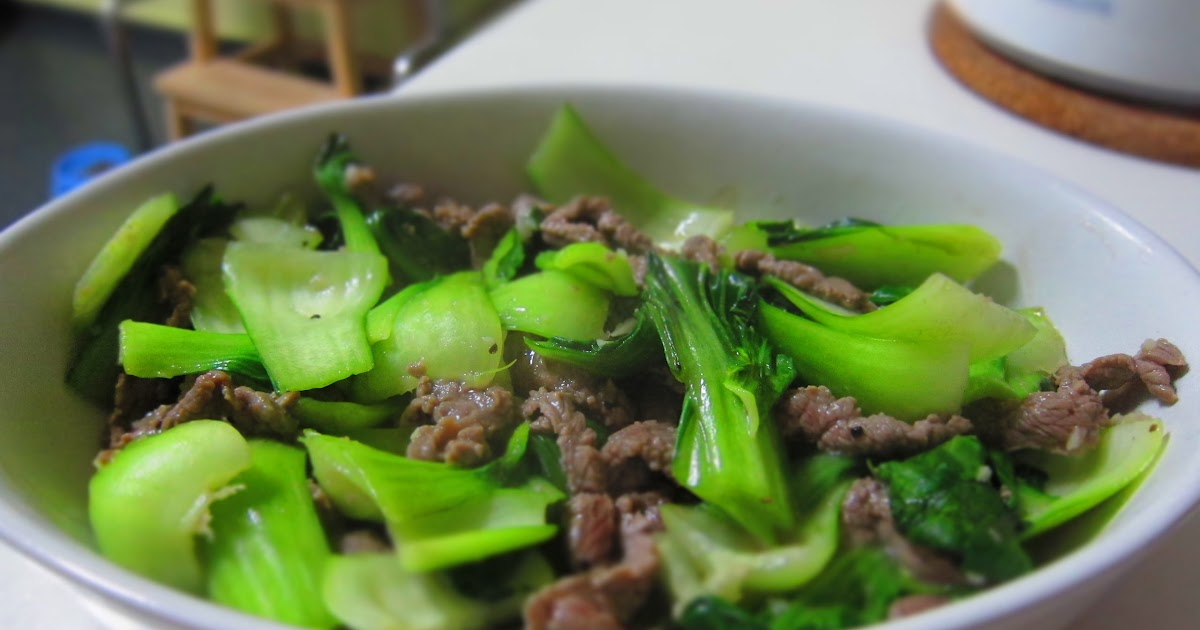 how to cook bok choy wok