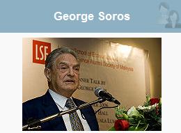 George Foros desde Davos