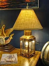 NAUTICAL TABLE LAMPS & LIGHTING