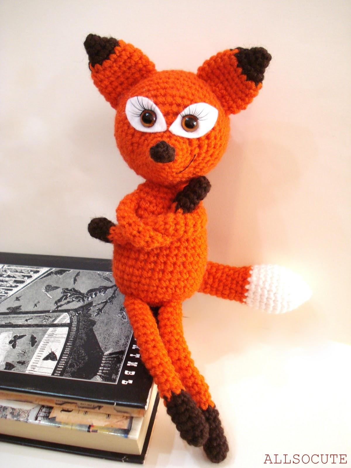 Crochet Fox : Amigurumi Fox, Crochet Fox Pattern