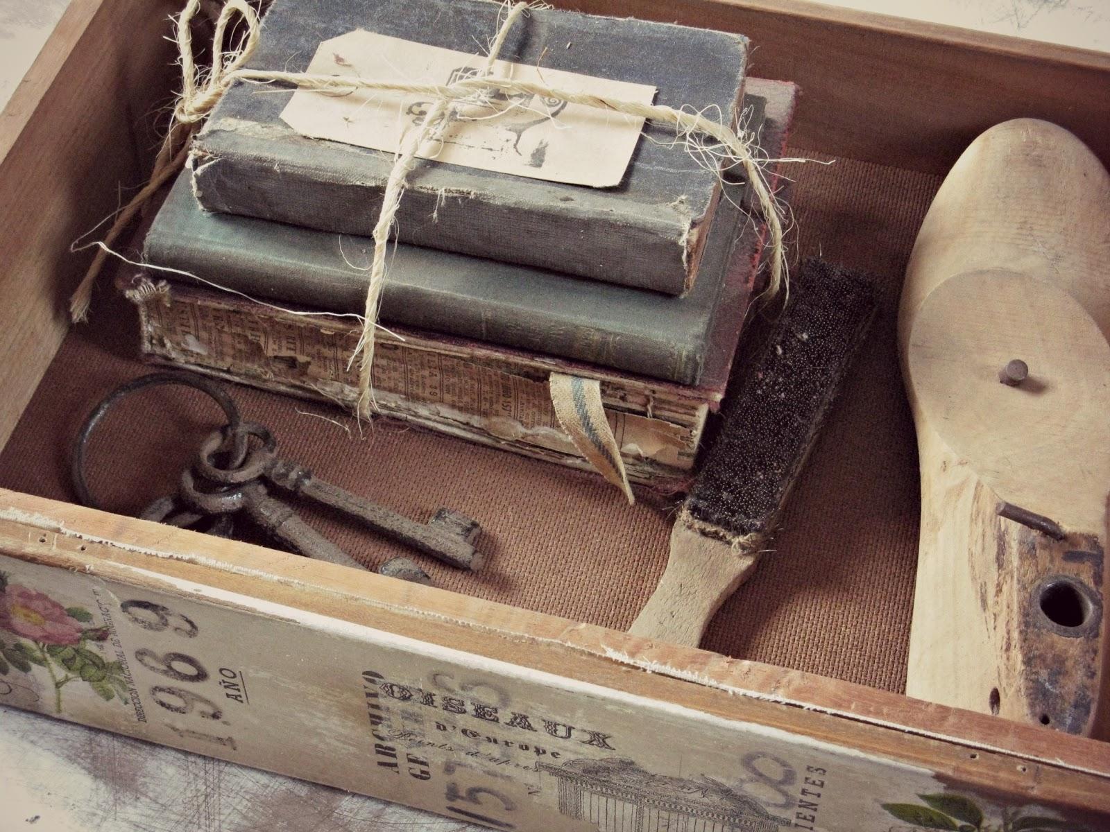 Tienda la florinda cajas cajones vintage - Cajones de madera antiguos ...