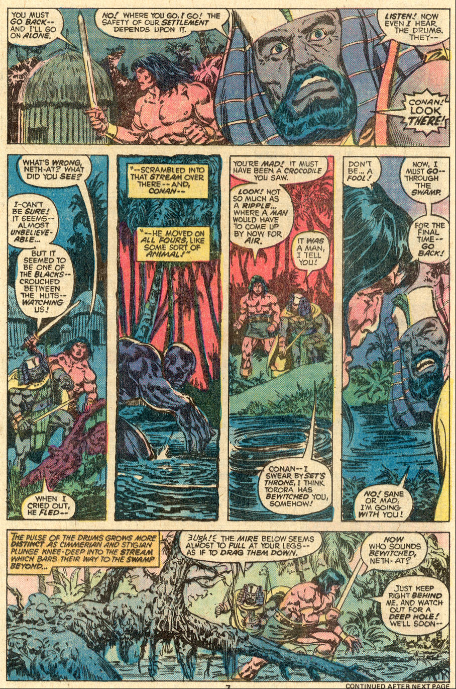 Conan the Barbarian (1970) Issue #83 #95 - English 6