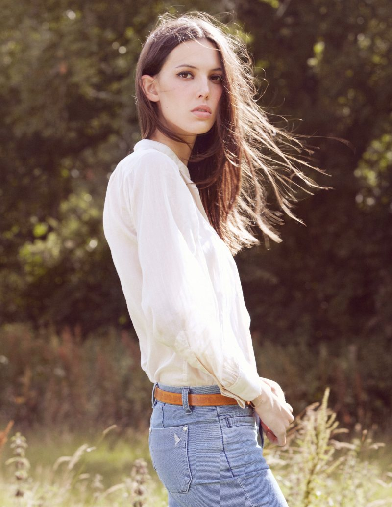 Ruby Aldridge Goes Boho for MiH Jeans Spring 2012 Lookbook ...