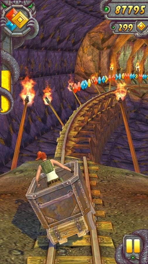 صورة من داخل لعبة تمبل ران Temple Run 2