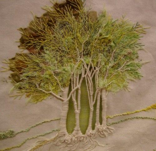 Embroidery tree makaroka