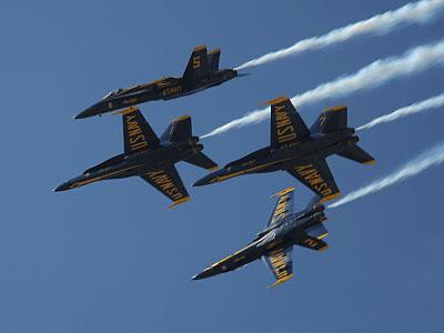 Randolph Air Force Base 2011 Air Show: U.S. Navy Blue Angels