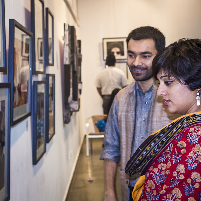 'FAITHfully Yours', a Photography Exhibition is inaugurated on 8th March at Arpana Caur Gallery near Siri Fort Auditorium. Inauguration was at 7pm and event lasted for 3-4 hours. Seven Artists Ambik Sethi, Augustus Mithal, Rajesh Ramakrishnan, Raajan Sharma, Shilpi Choudhuri, Shivani Punia and VJ Sharma are showcasing their work during next 10 days. Show will be on till17th March 2013.Show was inaugurated by the famous Fashion Designer Rina Dhaka, Award Winner Journalist Sonal Kalra, the famous Indian Contemporary Artist Jaishree Barman and few other ladies. Since it was a women's day, all ladies were there as chief guests. It was great to have Paresh Maity at inauguration. Mr. Paresh Maity has had more than 50 shows in thirty years. He gradually moved from atmospheric scenery to representations of the human form. His more recent paintings are bold and graphic, with a strong color and unusual cropping. His works are in a number of collections, including the British Museum, and the National Gallery of Modern Art, New Delhi. In early years he did many watercolors of different locations.Paresh painted for newly built Terminal 3 at Delhi Airport. He has created the biggest painting of his life and probably the longest in India. It stretches up to over 850 feet and is surely one of the most monumental paintings in the world. In August 2011, his 55th solo show with water colour paintings based on the last 15 poems of poet Rabindranath Tagore, Shesh Lekha (The Last Writings, 1941), opened at the National Gallery of Modern Art, New Delhi. Many known faces from Photography, Art and media were around.  Every photographer has described FAITH in different aspects of life. Some have worked on some aspects of religious faith around the world, Faith in relationships and many more other aspects very well shown through visuals. VJ shares his work around 'The Question of FAITH' - Faith exists everywhere and in all of us, and yet everyone questions faith. The concept of faith is ridde