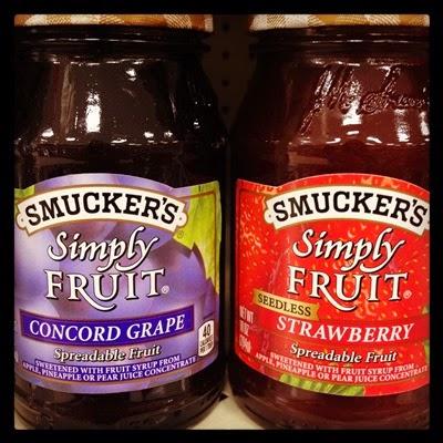 Vegan Vegetarian Food Kids Target Smuckers Simply Fruit Spreadable Fruit Jam Jelly