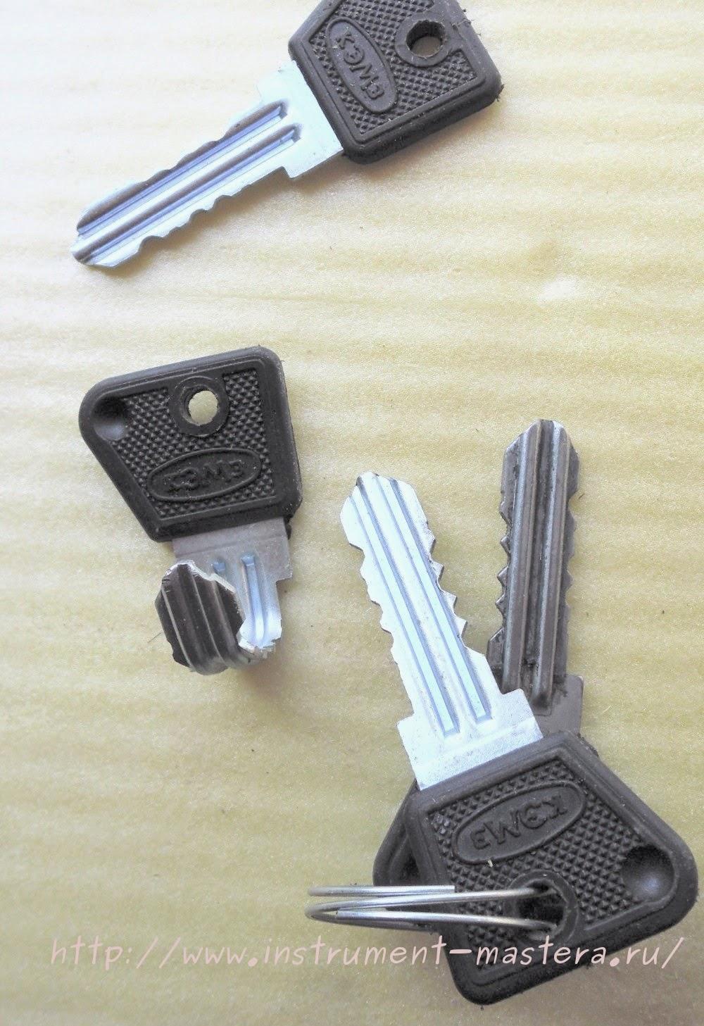 Крючки для вешалки из ключей