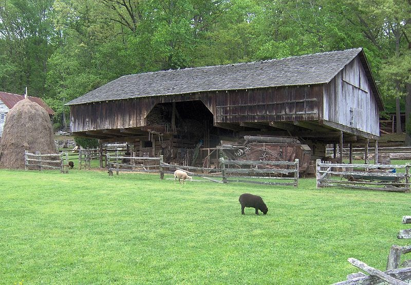 Hogfiddle Cantilever Barns In East Tennessee