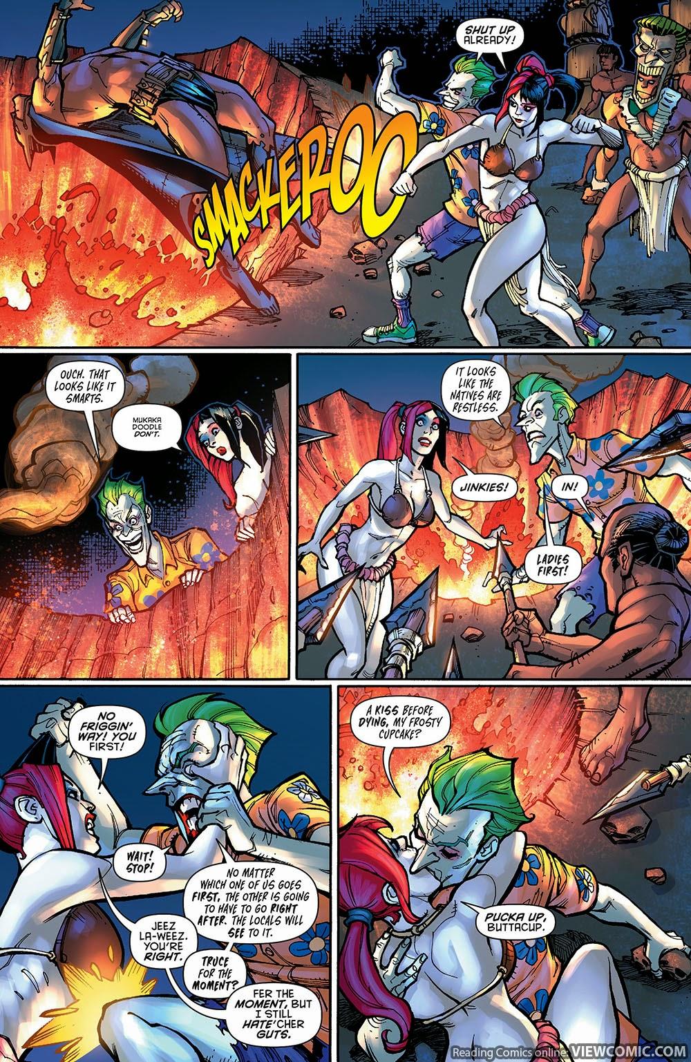 harley quinn futures end 001 2014 viewcomic reading comics