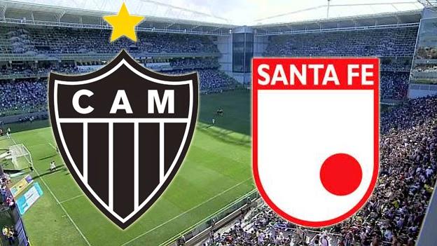 Atlético Mineiro vs Independiente Santa Fe Copa Libertadores 09-04-2015
