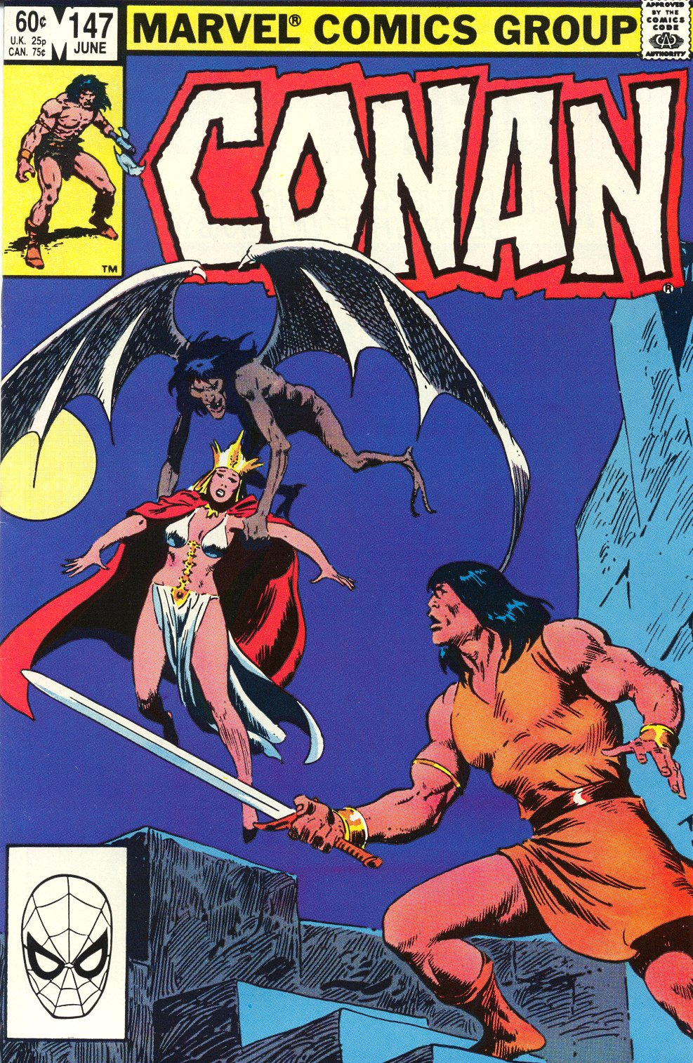 Conan the Barbarian (1970) Issue #147 #159 - English 3