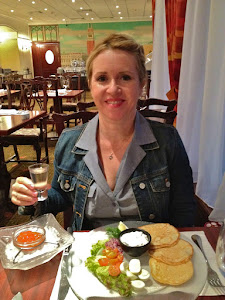 Caviar and Vodka in Moscow
