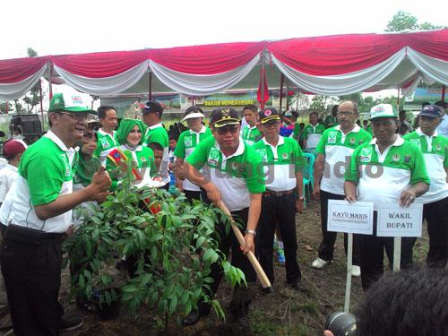Penanaman 1 milyar Pohon (One Billion Indonesia Trees) Serentak di Seluruh Indonesia
