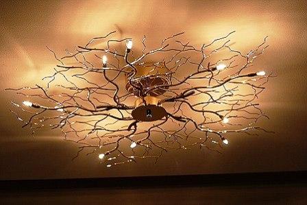 Disenyoss decoracion lamparas de techo - Lamparas originales de techo ...