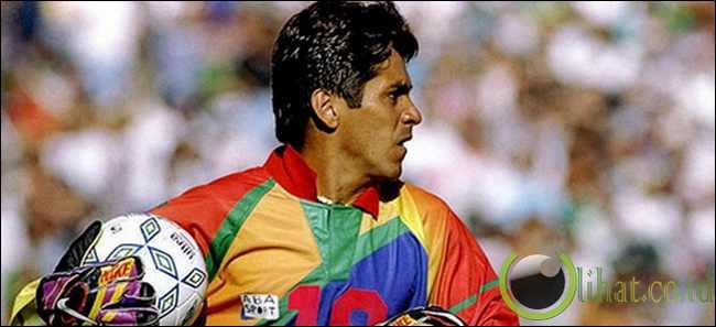 Jorge Campos: 34 gol
