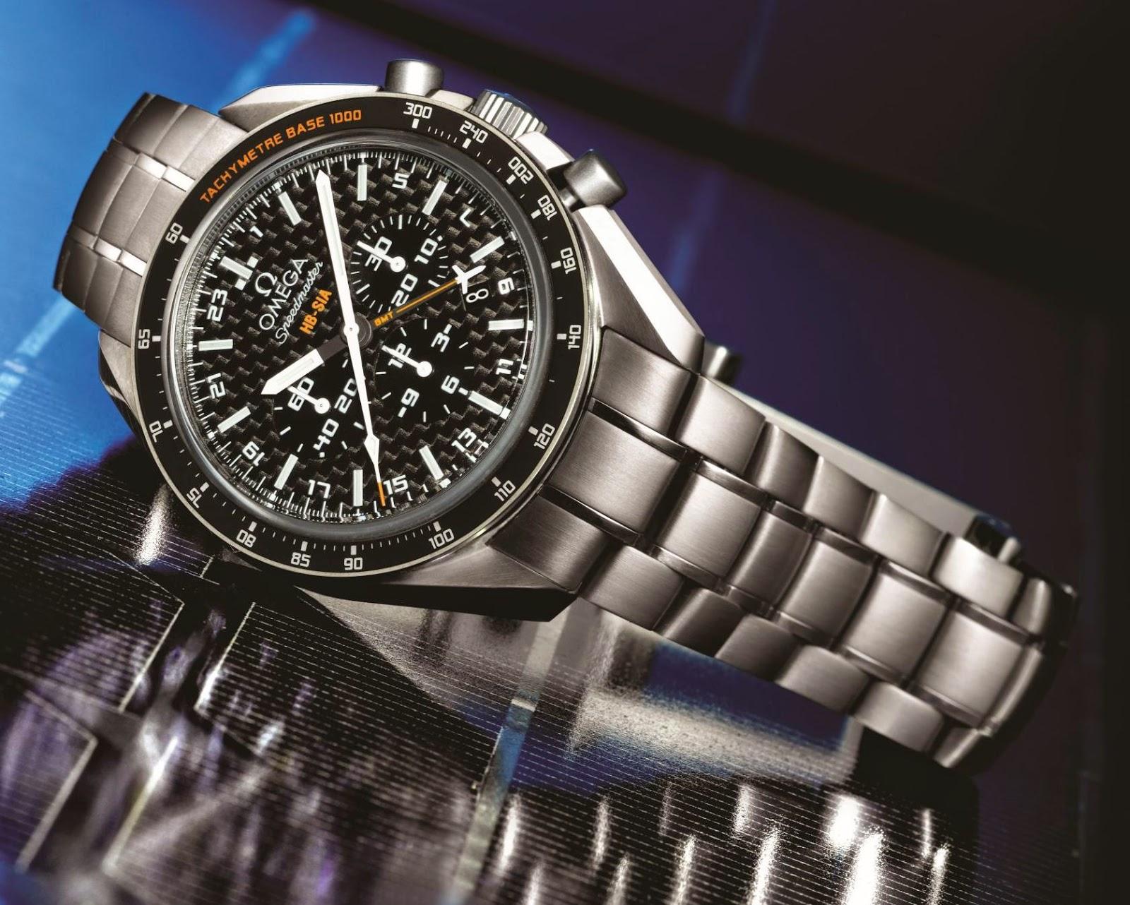 "Omega Speedmaster GMT ""Solar Impulse"" watch replica"