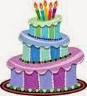verjaardagscandy bij Jolanda