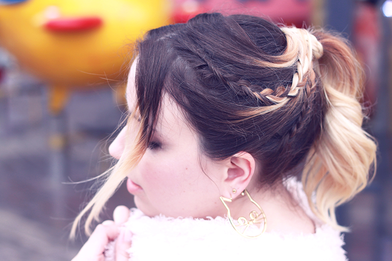 coiffure tresse ombre hair cherry crown lorna