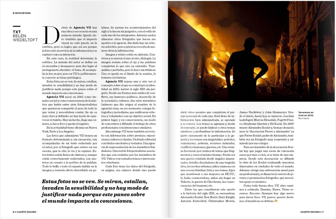 Lucio kleiman dise o revista cuarto oscuro for Cuarto oscuro rayos x