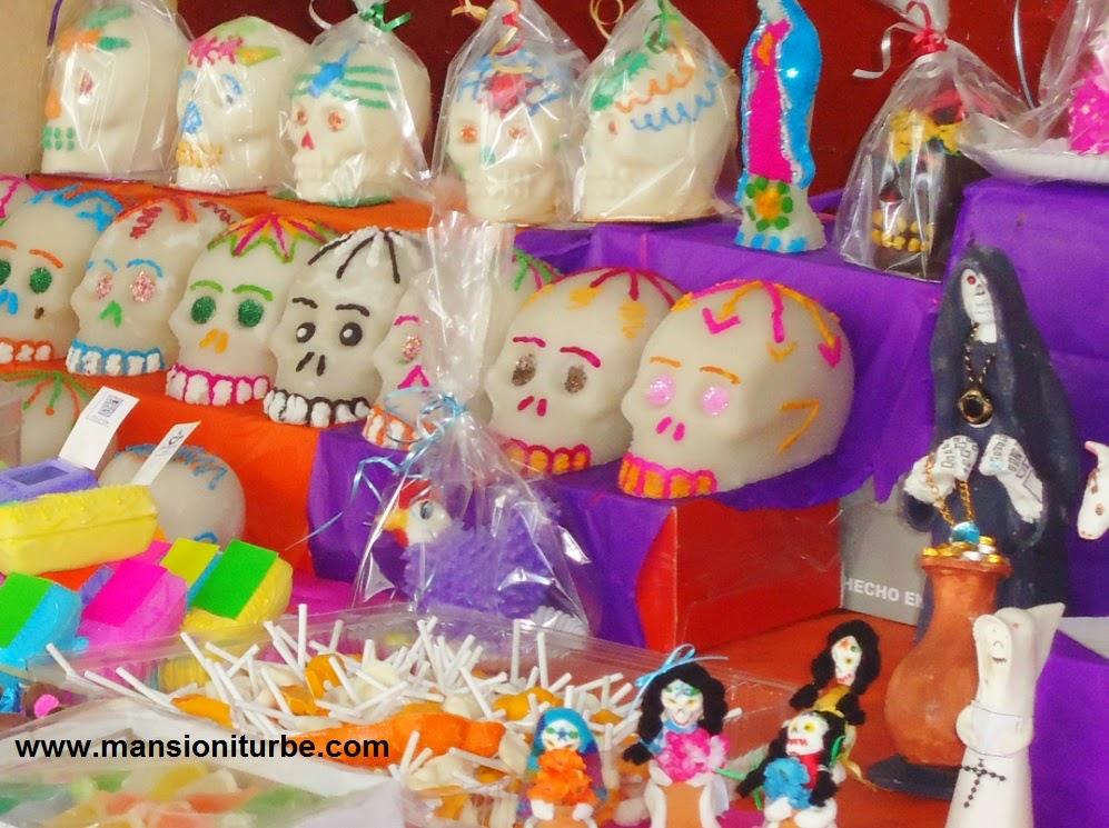 Calaveritas de Azúcar en Pátzcuaro