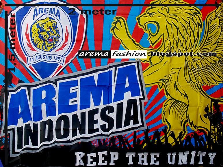 Arema Fashion Online Bendera Logo Tengah Tulisan Indonesia Ukuran Panjang
