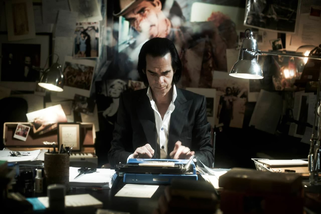 Image result for nick cave writting machine