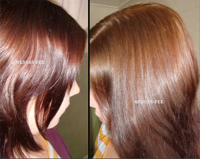 Haare aufhellen braune Braune haare